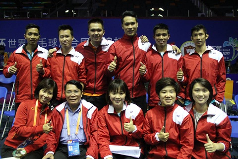 sudirman cup 2015 hinh anh