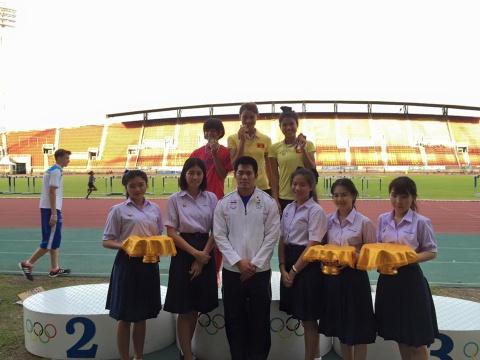Dien kinh Viet Nam gianh 2 HCV tai Thai Lan hinh anh