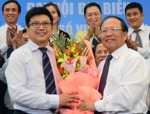 Ong Nguyen Bao Hoang lam Chu tich Lien doan bong ro Viet Nam hinh anh
