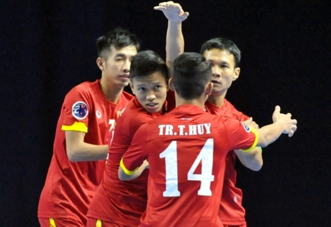 Futsal Viet Nam mo man thanh cong chien dich du World Cup hinh anh