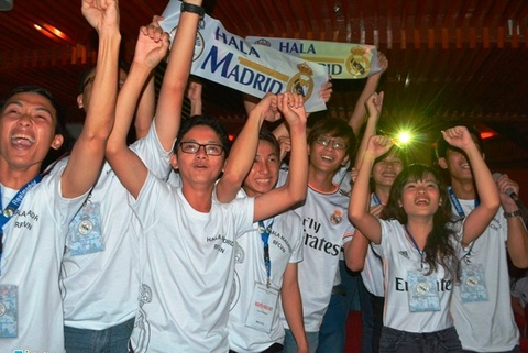 fan real madrid to chuc offline lon hinh anh