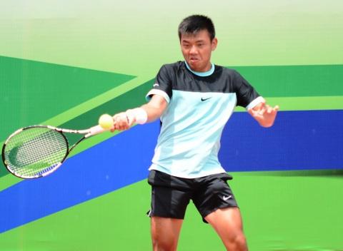 Ly Hoang Nam vao vong 2 giai Vietnam F1 Futures hinh anh