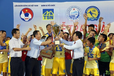 U17 Dong Thap vo dich giai quoc gia hinh anh