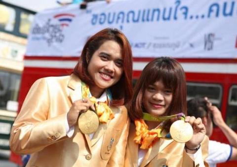 thai lan doat 2 hcv olympic hinh anh