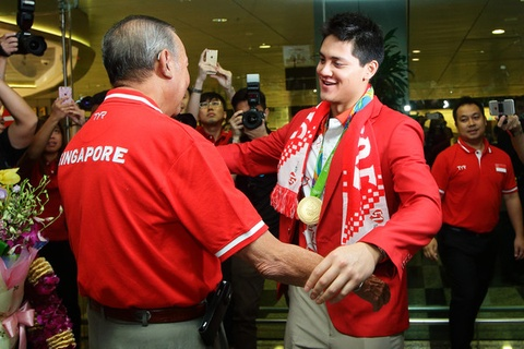 schooling se pha ky luc cua phelps hinh anh