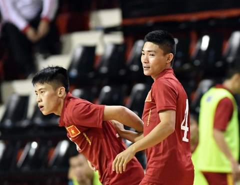 Tuyen futsal Viet Nam sang Colombia du World Cup hinh anh