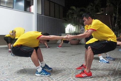 Tuyen futsal Viet Nam di chuyen den noi moi de gap Italy hinh anh 6
