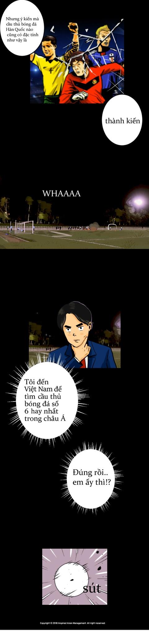 Xuan Truong len truyen tranh truc tuyen cua Han Quoc hinh anh 3