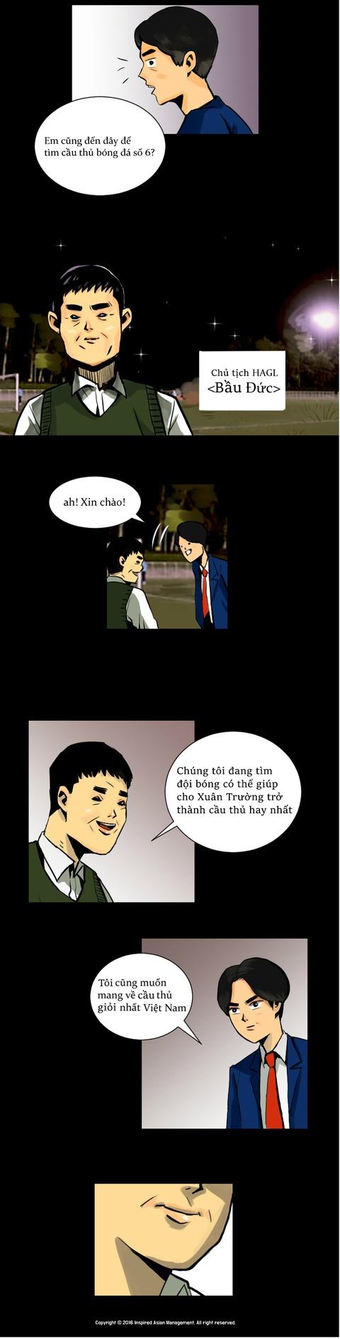 Xuan Truong len truyen tranh truc tuyen cua Han Quoc hinh anh 5