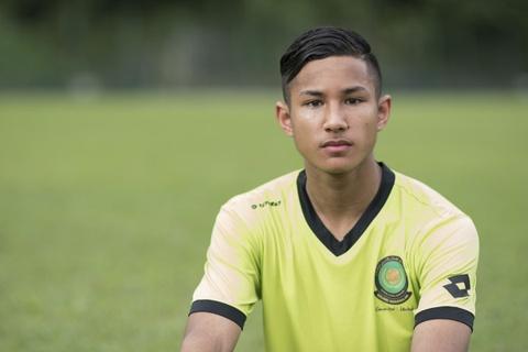 Tien dao Brunei khong ngan U22 Malaysia hinh anh