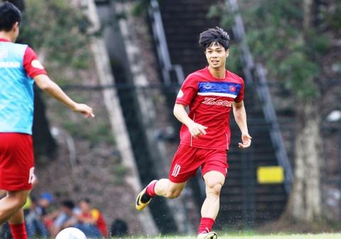 Cong Phuong, Tuan Anh cuoi tuoi cho gap Philippines hinh anh 3