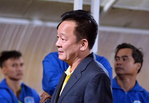 Bau Hien dong vien Quang Nam sau tran thua CLB Ha Noi hinh anh 6