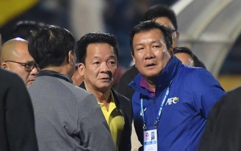 Bau Hien dong vien Quang Nam sau tran thua CLB Ha Noi hinh anh 7