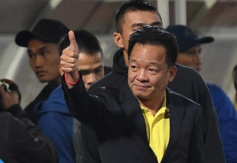 Bau Hien dong vien Quang Nam sau tran thua CLB Ha Noi hinh anh 8