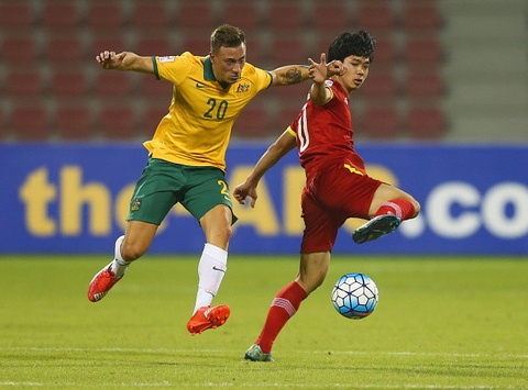 Highlights U23 Australia 2-0 U23 Viet Nam nam 2016 hinh anh