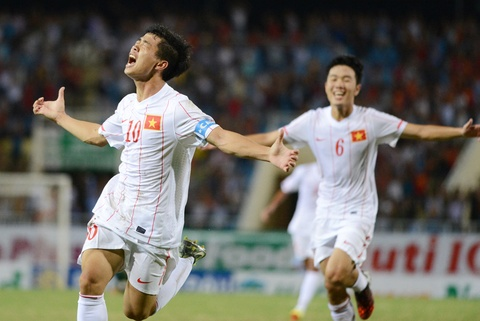 Sieu pham cua Cong Phuong vao luoi U19 Australia nam 2014 hinh anh