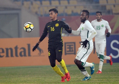 U23 Malaysia lap thanh tich lich su tai VCK U23 chau A hinh anh