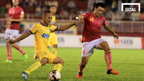 Hai sieu pham cua Do Van Thuan tai V.League 2017 hinh anh