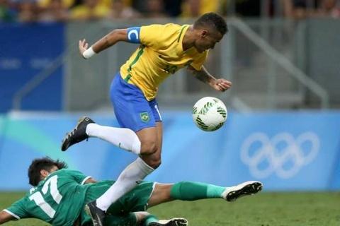 Iraq cam hoa Brazil cua Neymar tai Olympic 2016 hinh anh
