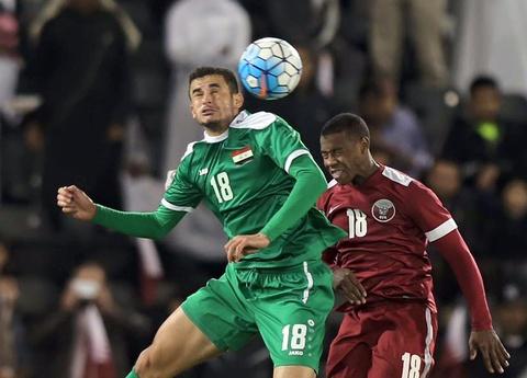 Ayman Hussein ghi ban quyet dinh dua Iraq du Olympic 2016 hinh anh