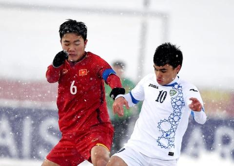 Xuan Truong ve nuoc thi dau cho HAGL o V.League 2018 hinh anh