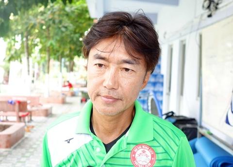 HLV Miura: 'CLB TP.HCM se dung top 3 V.League sau giai doan mot' hinh anh