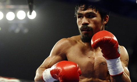 Manny Pacquiao tap luyen truoc tran so gang voi Jeff Horn hinh anh