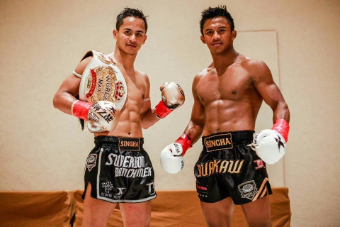 Superbon va quyet dinh dua vo si vo danh thanh kickboxer so 2 the gioi hinh anh 2