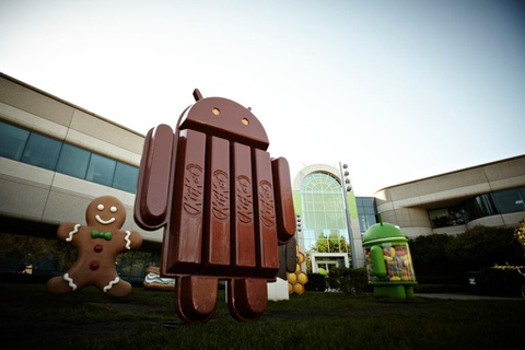 Android 4.4 KitKat ra mat, tuong thich voi 'de' RAM 512 MB hinh anh