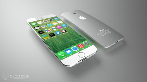 Chan dung iPhone 6 voi thiet ke kieu giot nuoc hinh anh