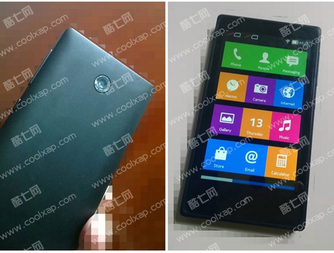 Loat anh Nokia X A110 gia duoi 115 USD tai Trung Quoc hinh anh