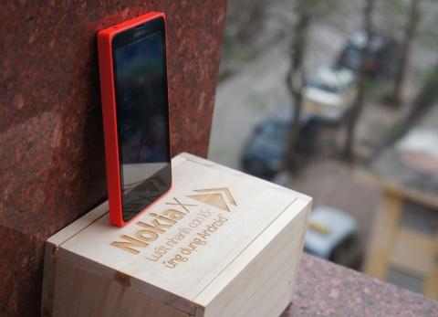 Danh gia Nokia X: 'Di nhan' lang dien thoai Android gia re hinh anh