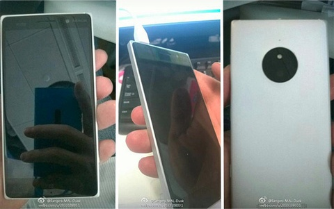 Lumia 830 xuat hien voi cum camera giong Lumia 1020 hinh anh