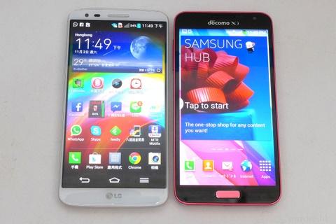 Tu van: mua LG G2 hay Samsung Galaxy J Docomo? hinh anh
