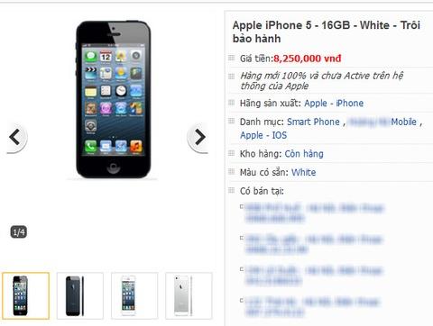 Co nen mua iPhone 5 troi bao hanh gia 8 trieu? hinh anh