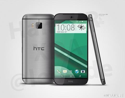 Cau hinh, phu kien cua HTC One M9 ro ri hinh anh