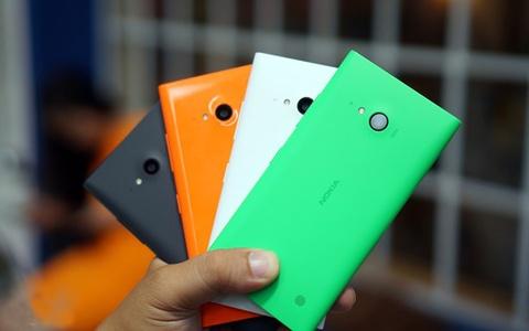 Hang loat mau Lumia cua Nokia giam gia tai Viet Nam hinh anh