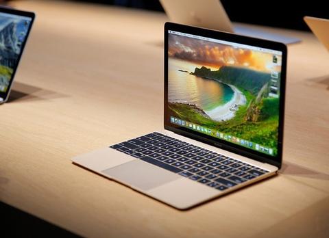 MacBook 12 inch: Logo khong phat sang, camera te hinh anh