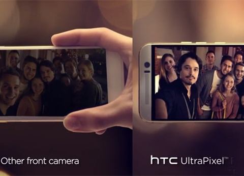 HTC che camera iPhone 6 chup selfie xau hinh anh