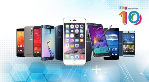 top 10 smartphone tot nhat thang 5 hinh anh