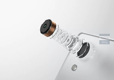 Lo anh bao chi cua Xperia Z5 voi camera 23 megapixel hinh anh