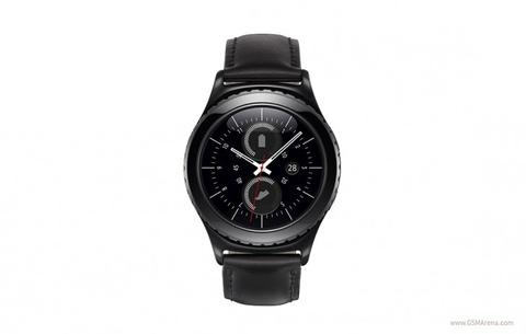 Samsung Gear S2 ra mat voi vien xoay, chay Tizen OS hinh anh