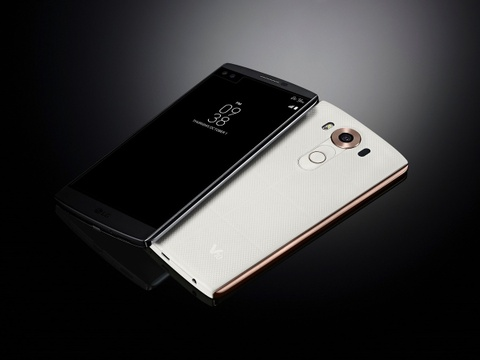 LG tung smartphone cao cap 2 man hinh, 2 camera selfie hinh anh