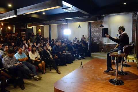 Mot gio cua CEO Google voi gioi khoi nghiep Ha Noi hinh anh 14