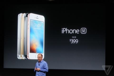 Apple ra mat iPhone SE va iPad Pro 9,7 inch hinh anh
