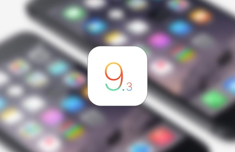 Ban iOS 9.3 moi khac phuc loi bien iPad thanh cuc gach hinh anh