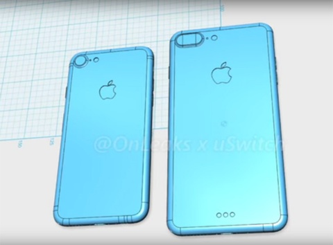 Hinh dang iPhone 7 qua do hoa 3D hinh anh