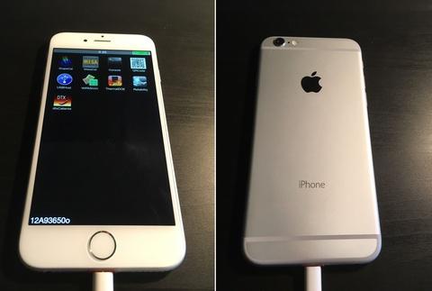iphone 6 ban mau hinh anh