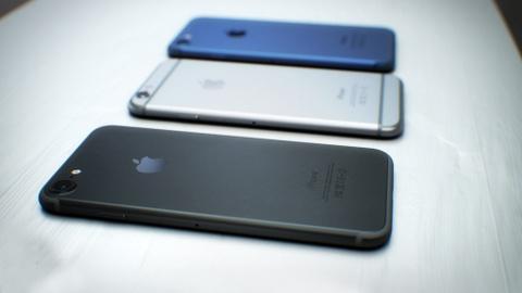 Hoi sinh ban mau den tren iPhone 7 hinh anh 1
