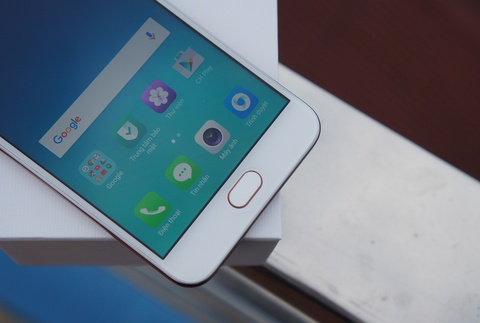 Mo hop Oppo F1s: Smartphone chuyen selfie, dang ua nhin hinh anh 4